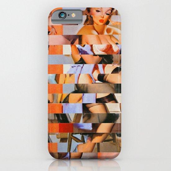 Glitch Pin-Up: Whitney iPhone & iPod Case