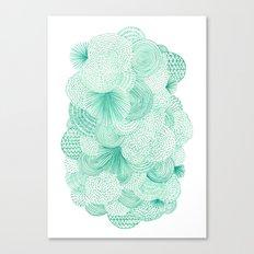 Green Fields Canvas Print