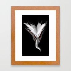 Tongue Demon Framed Art Print