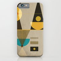 iPhone & iPod Case featuring Geometric/Abstract 19 by ViviGonzalezArt
