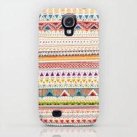 Galaxy S4 Cases featuring Pattern by Sandra Dieckmann