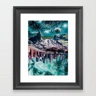Mixed World  Framed Art Print