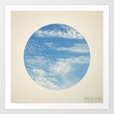 Circular 01 Art Print
