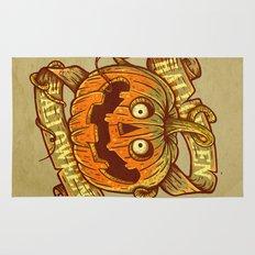 Halloween dark khaki Rug