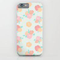 iPhone & iPod Case featuring Pastel floral by Aneela Rashid