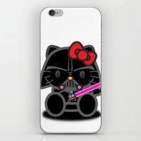 Dark Kitten iPhone & iPod Skin