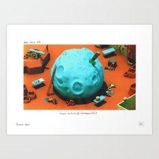 POP HELL #3 Art Print
