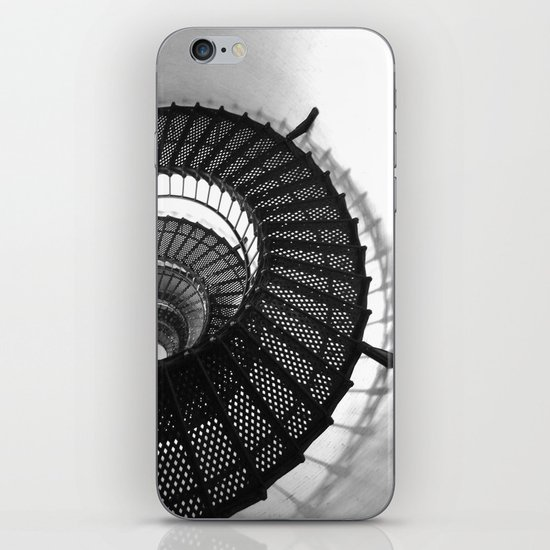 Spiral Stairs iPhone & iPod Skin