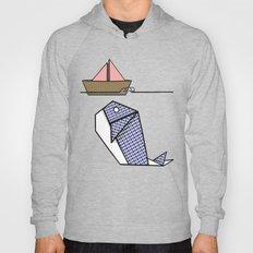 Origami Whale Hoody