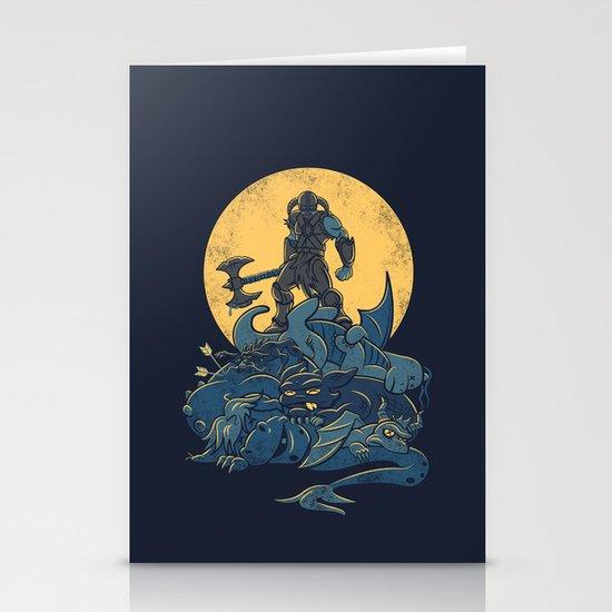 The Dragon Slayer Stationery Card