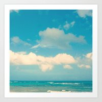 Loquillo Beach Art Print