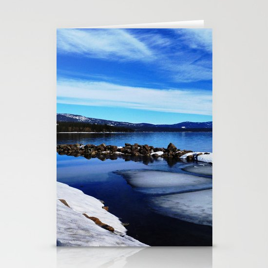 Tahoe City Stationery Card