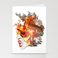 Fire- From World Element… Stationery Cards