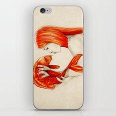 Playing Koi iPhone & iPod Skin