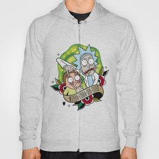 Traditional Rick and Morty  Hoody