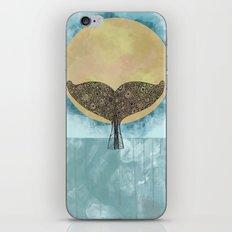 Sunset Whale iPhone & iPod Skin
