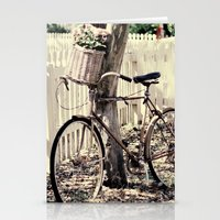 bike Stationery Cards featuring bike  by Beverly LeFevre