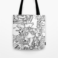 counting rabbits Tote Bag