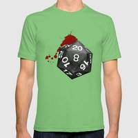 Dirty Dice Mens Fitted Tee Grass SMALL