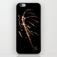 Jets of Fireworks iPhone & iPod Skin