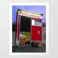 PHOTOAUTOMAT 2 Art Print