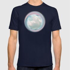 Kiss The Sky Mens Fitted Tee Navy SMALL