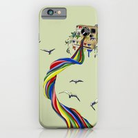 iPhone & iPod Case featuring Polaroid River by Kyle Naylor