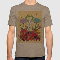 Timothy Leary Mens Fitted Tee Tri-Coffee SMALL