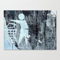 Urban Abstract 70 Canvas Print