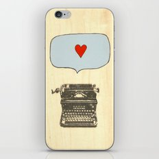 Love Letters iPhone & iPod Skin