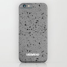 Retro Speckle Print - Grey iPhone 6s Slim Case