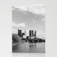 Columbus Ohio 1 - B&W Stationery Cards