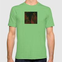 Relished Devils  Mens Fitted Tee Grass SMALL