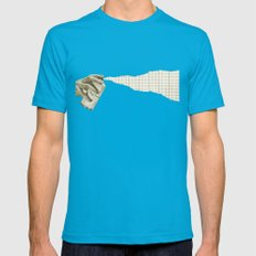 Top Secret (spray) Mens Fitted Tee Teal SMALL