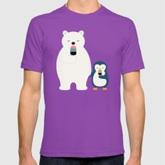 Stay Cool Mens Fitted Tee Ultraviolet SMALL