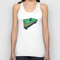 Pool shark Unisex Tank Top