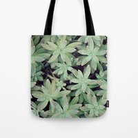 Succulent Abstract Tote Bag
