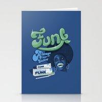 FUNK - ALWAYS KEEPS ME SMILING Stationery Cards