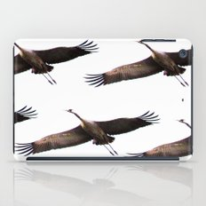 Cranes in flight iPad Case