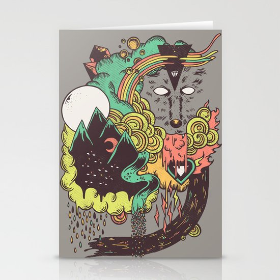 Leader of the Pack Stationery Card