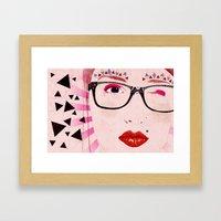 Pollyanna Framed Art Print