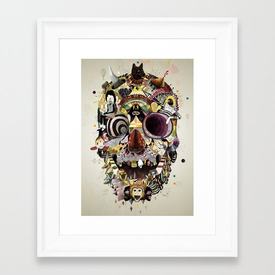 Pick Me Up Framed Art Print