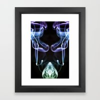 Smoke Photography #7 Framed Art Print