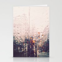 DC Rain Stationery Cards