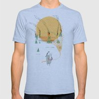Beach House - Norway Mens Fitted Tee Athletic Blue SMALL