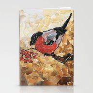 Bullfinch Stationery Cards