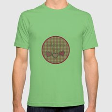 Celebrate Love! Mens Fitted Tee Grass SMALL