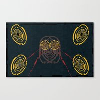 Mad Space Canvas Print