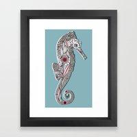 Seahorse #2 Framed Art Print