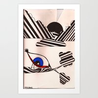 eye-bird's view Art Print